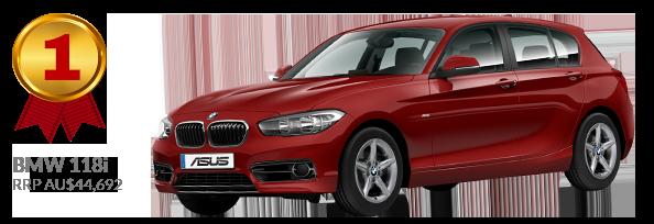 1st prize - BMW